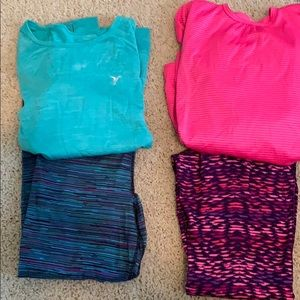 2 jogging outfits, size 10/12